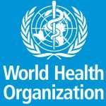 WHO logo vertical 2016 neg